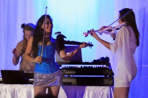 Violin Trio with DJ